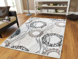Modern cream area rug new 5x8 8x11 for Sale in Baltimore, MD