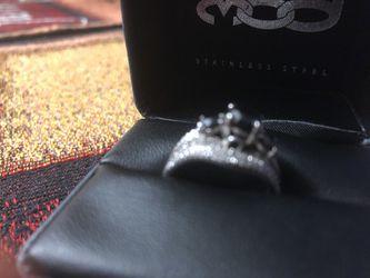 Zales Black Diamond Ring 3ct Thumbnail