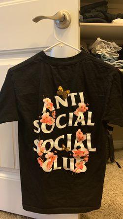 Authentic anti social shirt small Thumbnail