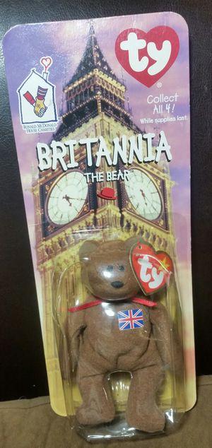 Britannia Beanie Baby with errors for Sale in San Diego, CA