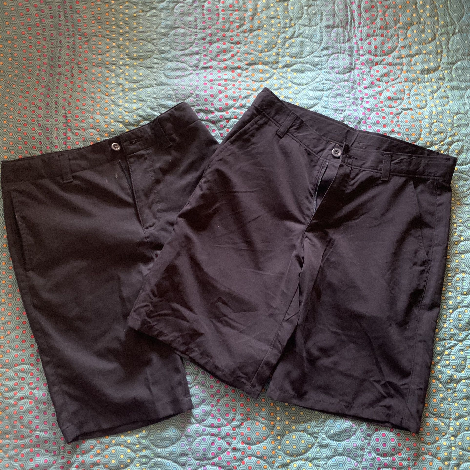Boys Navy Uniform Performance Shorts