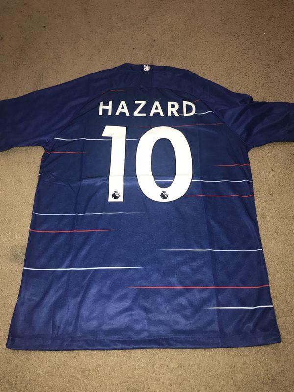 reputable site 65b78 0efb2 Chelsea FC 2018/19 Eden Hazard Jersey for Sale in Hyattsville, MD - OfferUp