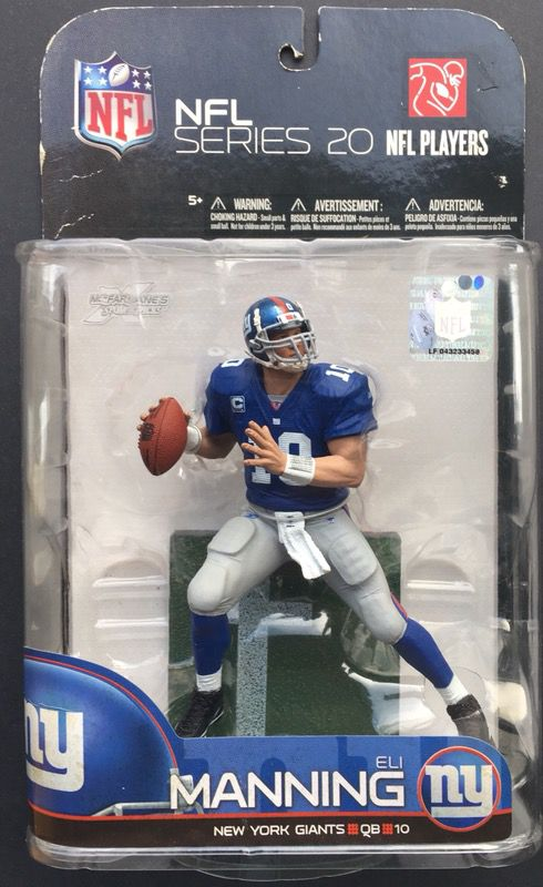 Eli Manning New York Giants NFL Football McFarlane action figure 2009  series 20 for Sale in Orangevale, CA - OfferUp
