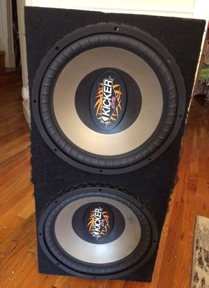 2 Kicker Comp VR15's! in a sealed box for Sale in Washington, DC