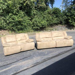 Recliner Sofa and Love Seat for Sale in Lake Ridge, VA