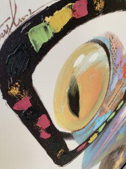 Modern Frog Oil Pintes Canvas New Thumbnail