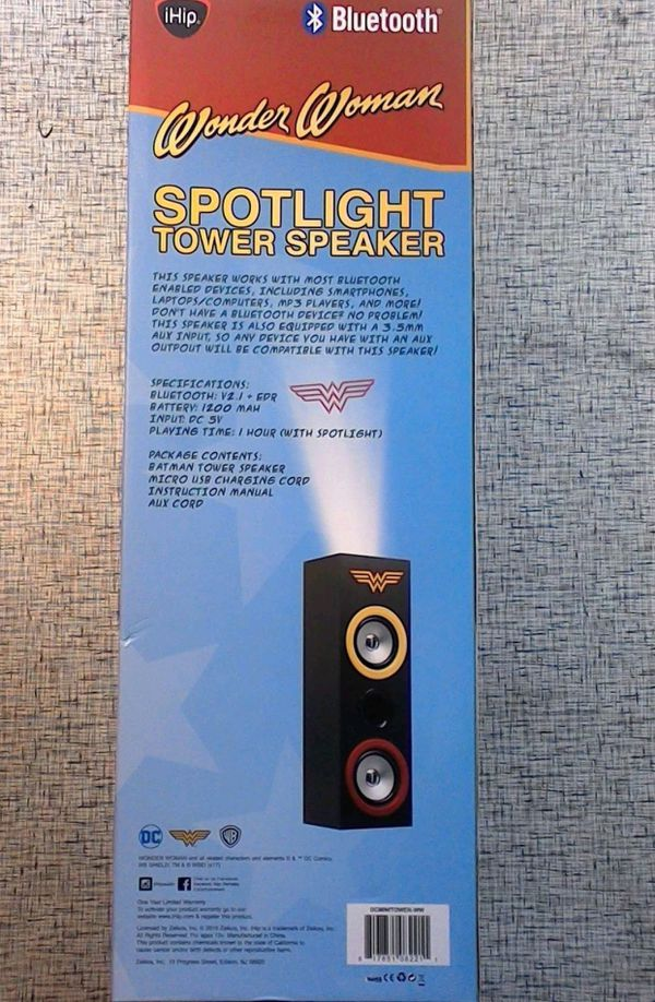 Wonder Woman Dc Comics Bluetooth Speaker For Sale In Las Vegas Nv