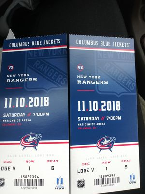 Blue Jacket Tickets for Sale in Columbus, OH