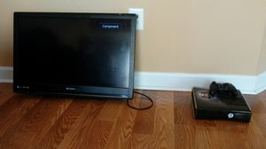 32 in flatscreen xbox 360 include for 160 for Sale in Fort Washington, MD