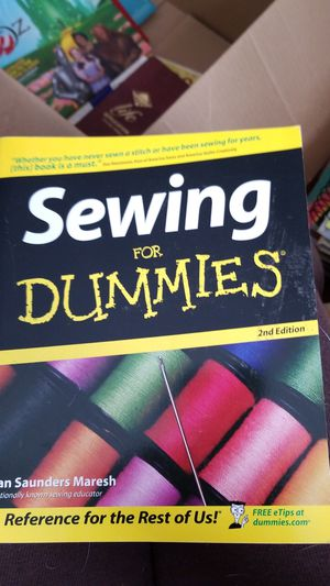 Sewing for Dummies for Sale in Vale, NC