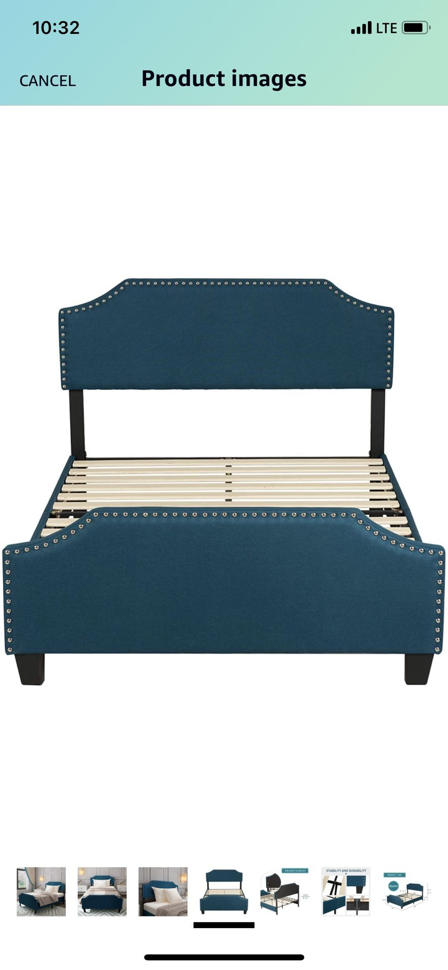 Queen Bed frame and Matresss