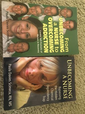 Nurses in Recovery Books (New): A 2 Part Series for Sale in Alexandria, VA
