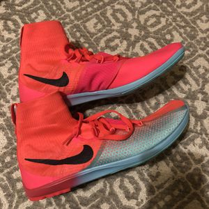 Nike Zoom Victory XC Solar Red Spike Running Shoes 8.5 for Sale in Philadelphia, PA
