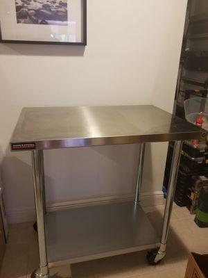Steel Wheels / Food / Kitchen / Kiosk / Table for Sale in Miami, FL