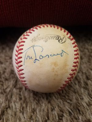 Tommy Tom Lasorda autographed baseball for Sale in San Diego, CA