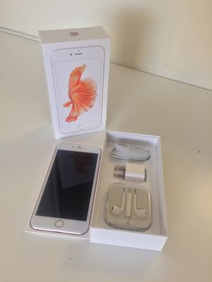 IPhone6s Plus Factory Unlocked + box and accessories + 30 day warranty for Sale in Washington, DC