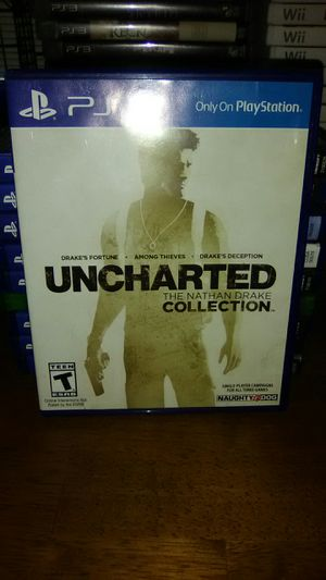 UNCHARTED THE NATHAN DRAKE COLLECTION PS4 for Sale in Sanford, FL