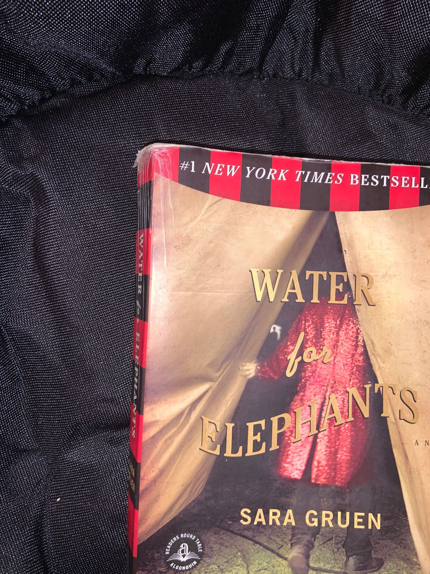 Water for the Elephants paperback