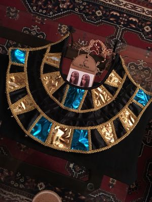 Egyptian Collar for Cleopatra Costume for Sale in Boston, MA