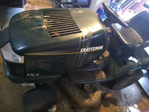Photo Craftsman DLT riding mower
