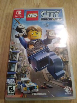 Lego City Undercover for NINTENDO SWITCH for Sale in Austin, TX