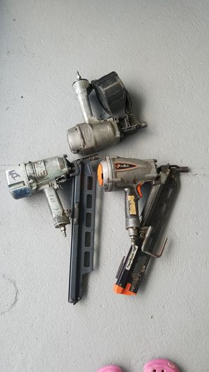 Nail guns as a bundle not sold separately. for Sale in Orlando, FL