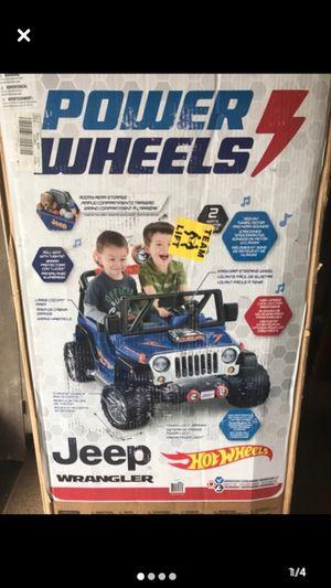 Photo Power Wheels Jeep Wrangler-Ride On