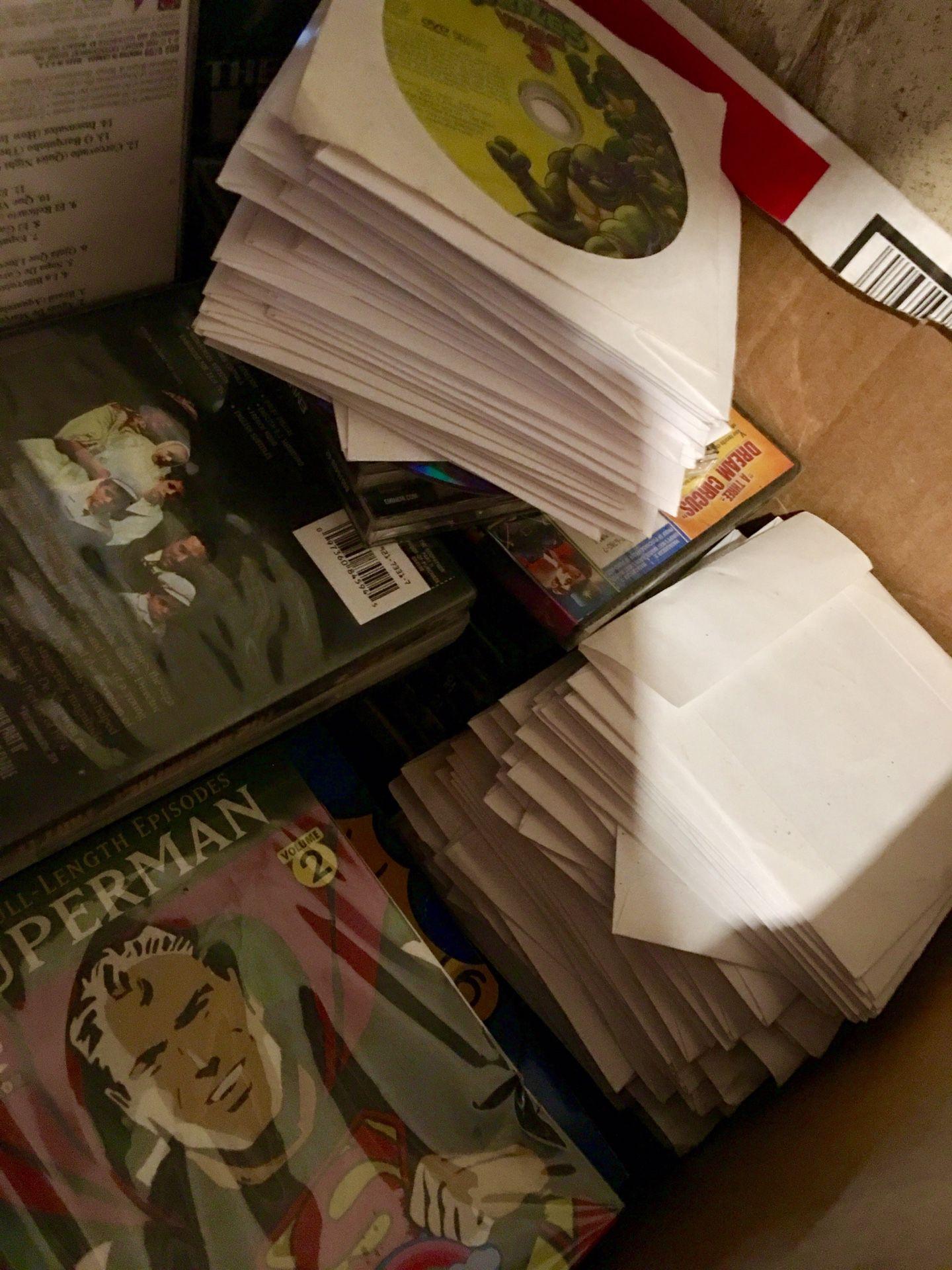 Big box of dvds