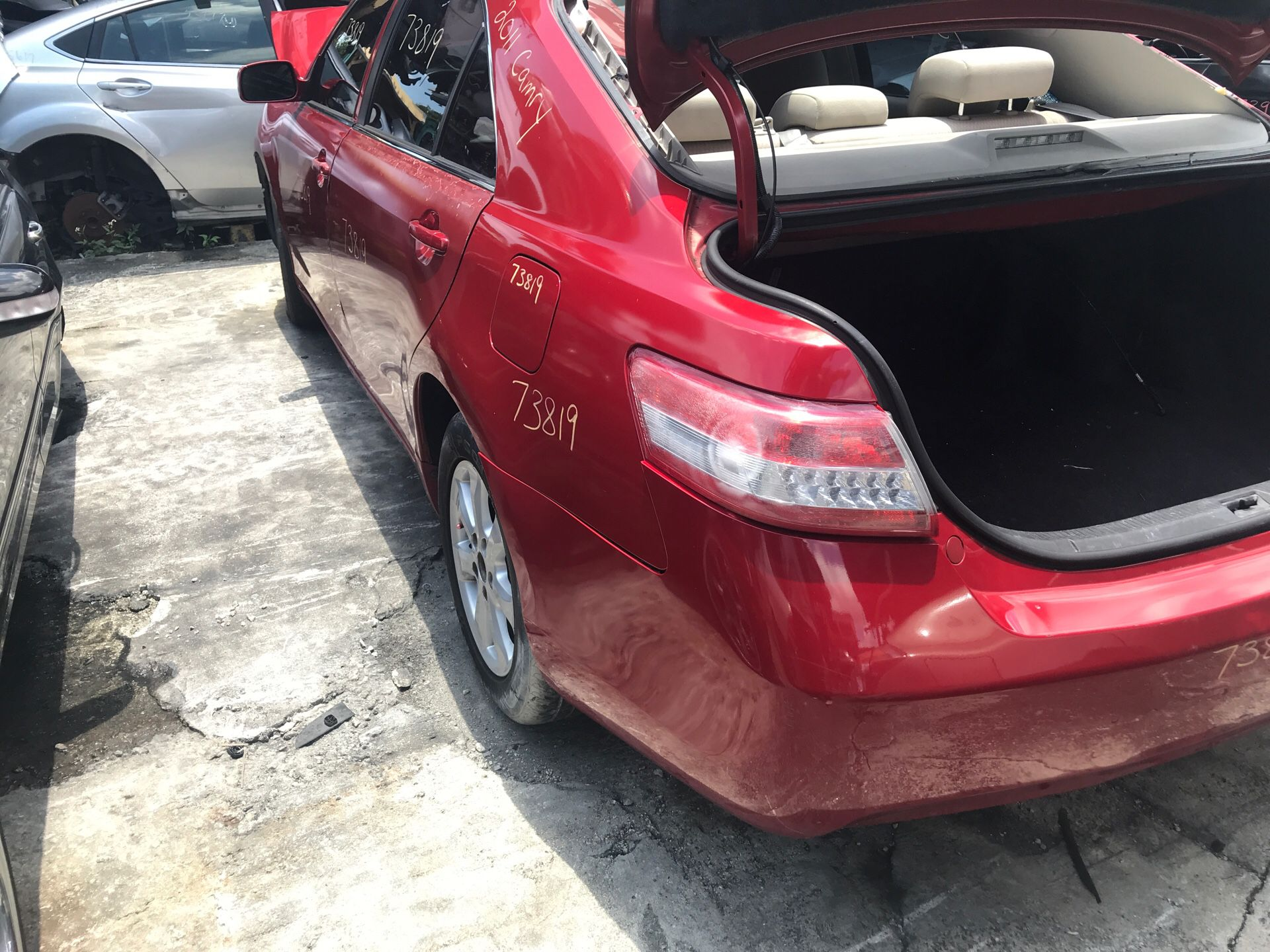 2011 Toyota Camry - For Parts Only!