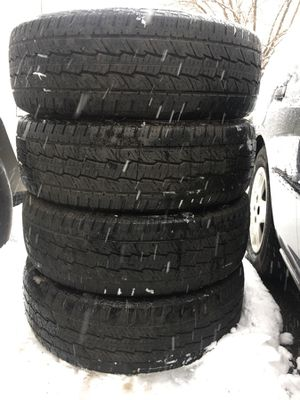 Used tire 255/70/r17 all $120 for Sale in Aldie, VA