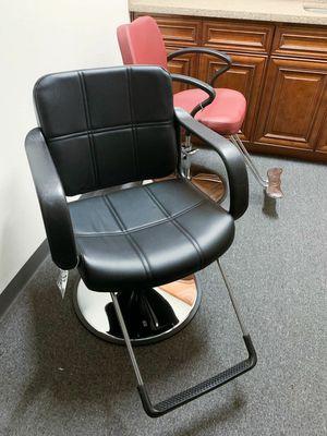 Photo New in box Barber chair Salon Styling Makeup tattoo Swivel hydraulic Step Pump Professional Best Swivel Styling Chair Salon 350lbs Capacity
