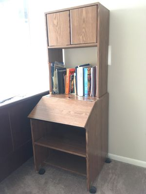 Cabinet with wheels for Sale in Houston, TX