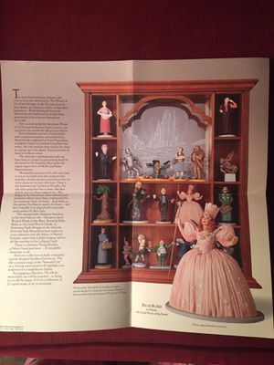 Franklin Mint Wizard of Oz display and figurines for Sale in West Springfield, VA