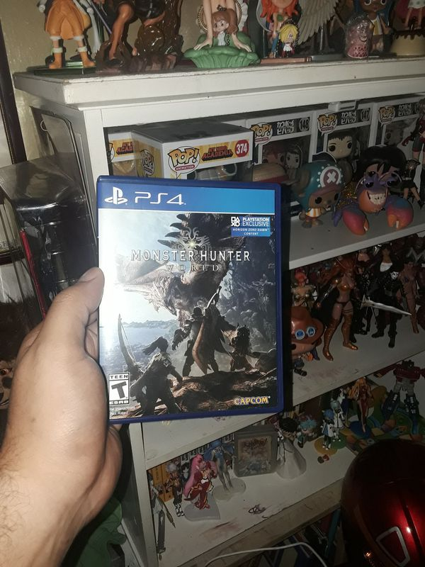 Monster Hunter world for ps4 for Sale in New York, NY - OfferUp