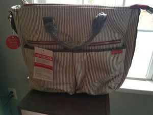 Diaper Bag with changing pad and insulated bottle warmer for Sale in Palmyra, VA