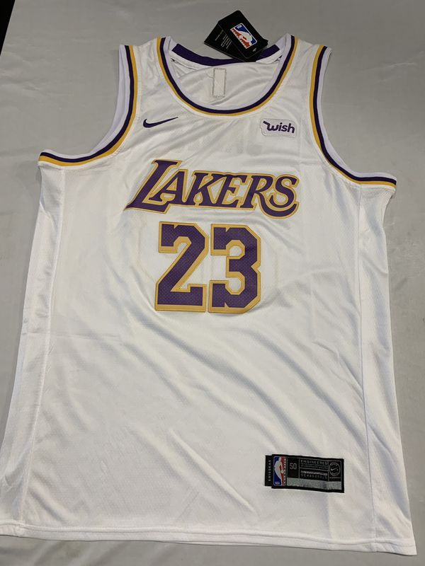 super popular 52531 89018 LeBron James Lakers Jerseys L-XL Yellow White Purple for Sale in Ontario,  CA - OfferUp