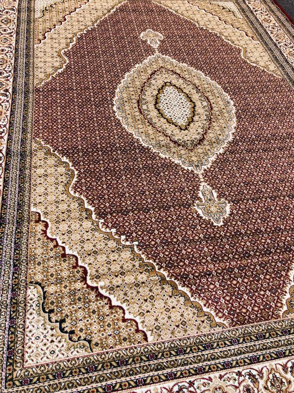 Area Rug Size 8x11 Nice Red Carpet