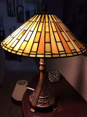 Tiffany reproduction Jade lamp for Sale in Acworth, GA