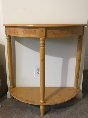 Half round table for Sale in Henrico, VA