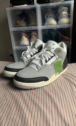 fa331d27c0b3cb Jordan 3 Chlorophyll Size 13 for Sale in San Diego