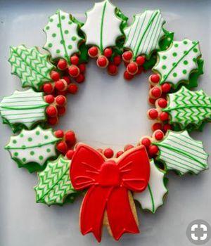 Holly Leaf Cookie Platter for Sale in Manassas, VA