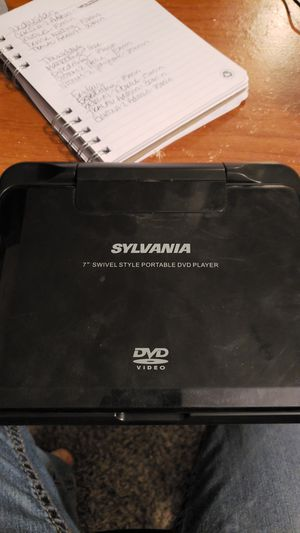 """7"""" Portable DVD player for Sale in Cypress, TX"""