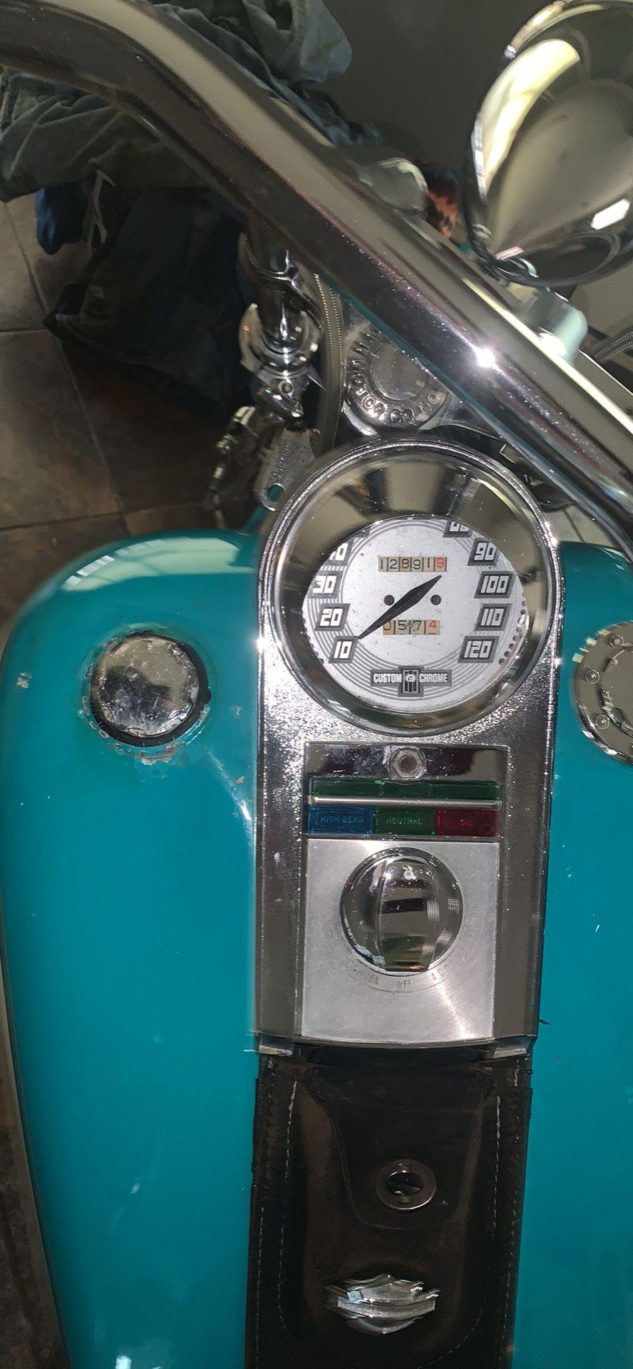 Photo 1992 Harley Davidson softail custom