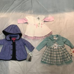 Toddlers Dresses & Coat Size 3-6 Months for Sale in Alexandria, VA