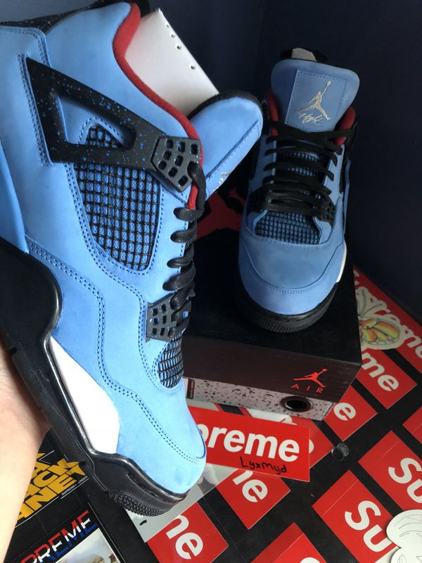 huge discount cb13d 6cac8 Travis Scott Jordan 4s for Sale in Raleigh, NC - OfferUp
