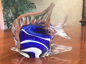 Art Glass Fish Paperweight Collectible for Sale in Scottsdale, AZ