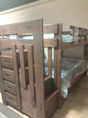 Staircase Bunk bed WC 498$. Same day delivery. Free LAYAWAY for Sale in Portage, MI