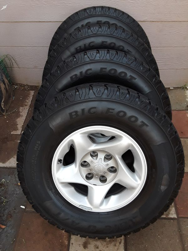 All Terrain Tires For Sale >> Big O Tire Big Foot T/A All Terrain Tires 265 75 R16 ...