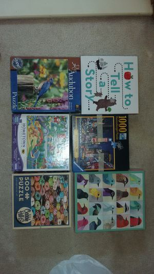 Puzzles and Games 5$ for all for Sale in Alexandria, VA