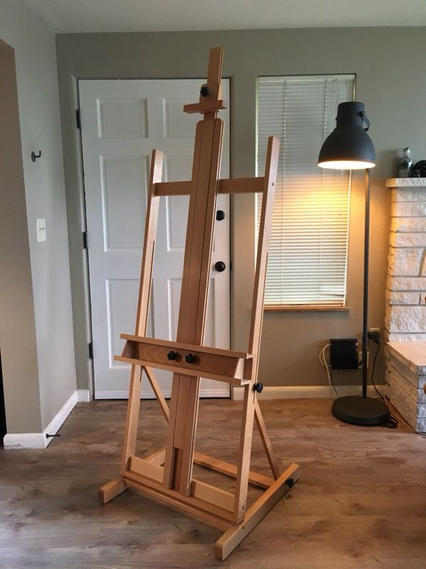 Blick Studio Medium-Duty H-Frame Easel, huge! for Sale in Seattle, WA -  OfferUp